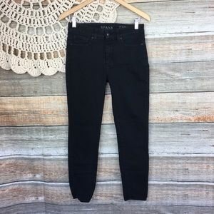 SPANX | The Slim X Ankle Mid Rise Skinny Jeans